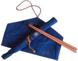 桜箸入り 箸袋(赤紐)